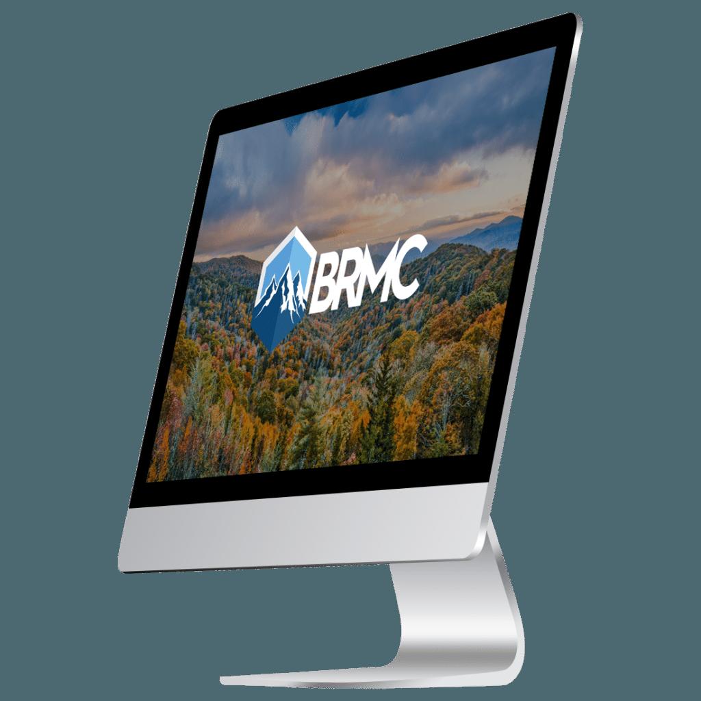 BRMC logo on screen