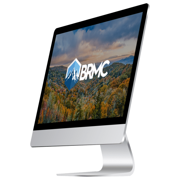 BRMC logo on screen