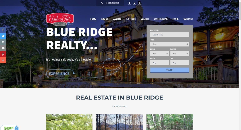nathanfitts.com Blue Ridge GA Real Estate
