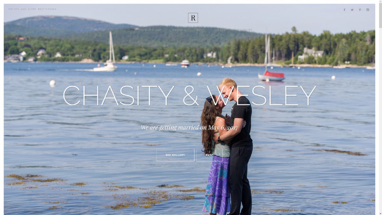 rhoadstomarriage.com Wesley & Chasity Rhoads Wedding Website