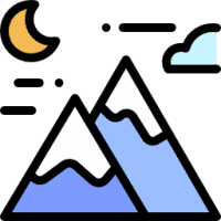 Mountain - Summit support icon