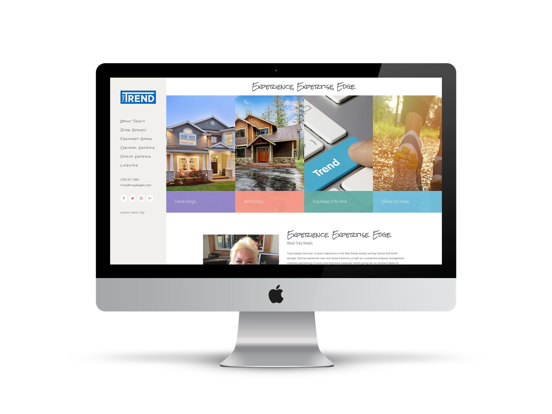 Tracy Kwapis Professional & Real Estate Website