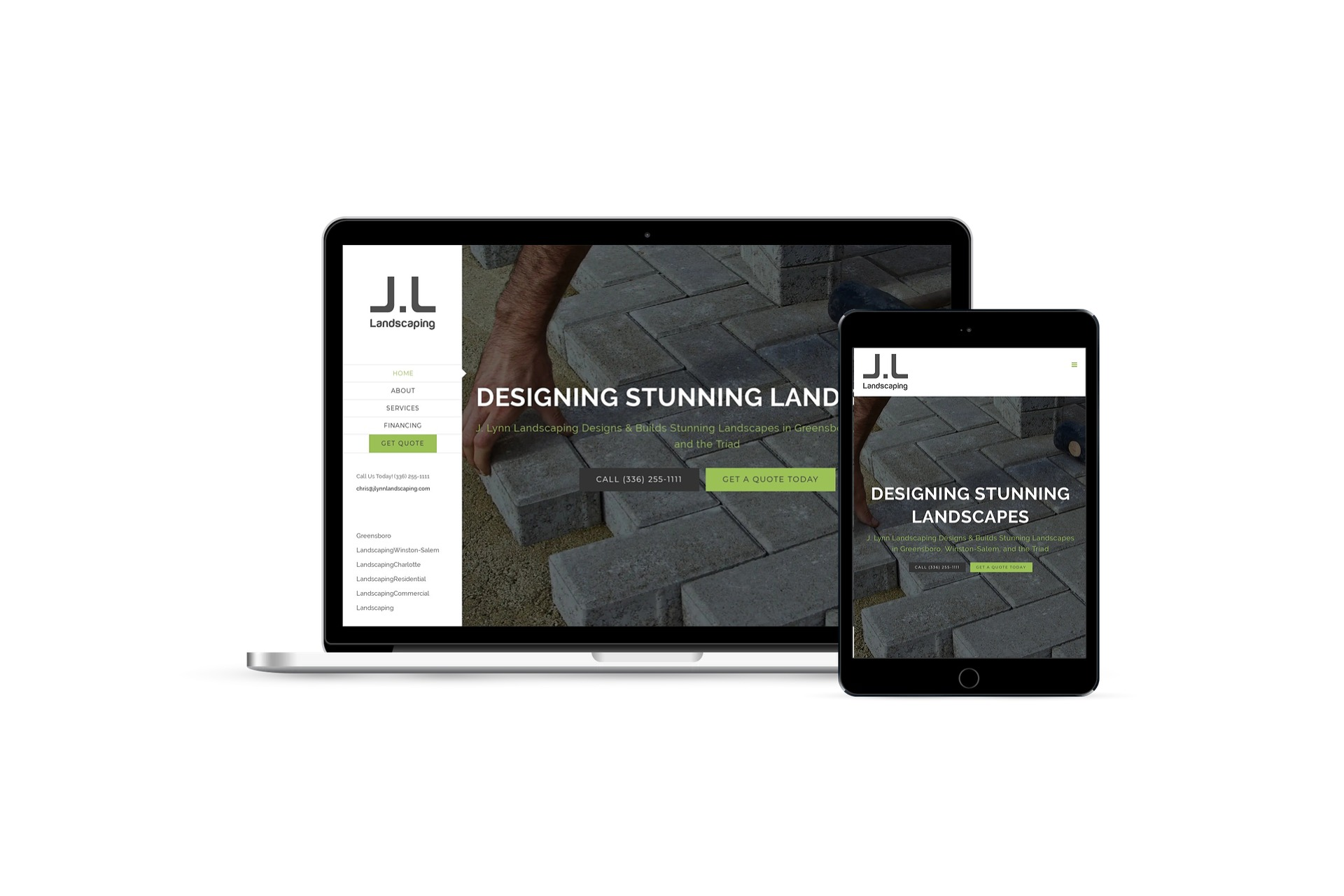 J. Lynn Landscaping Website Design & Marketing
