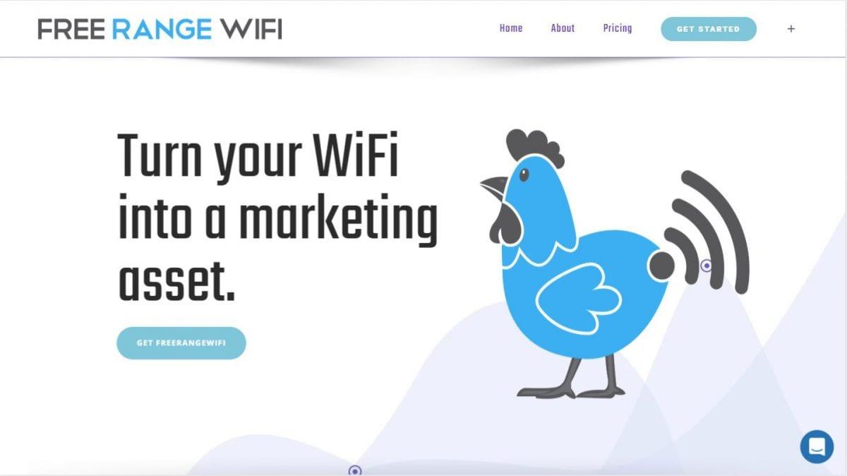 FreeRangeWiFi Website & Application