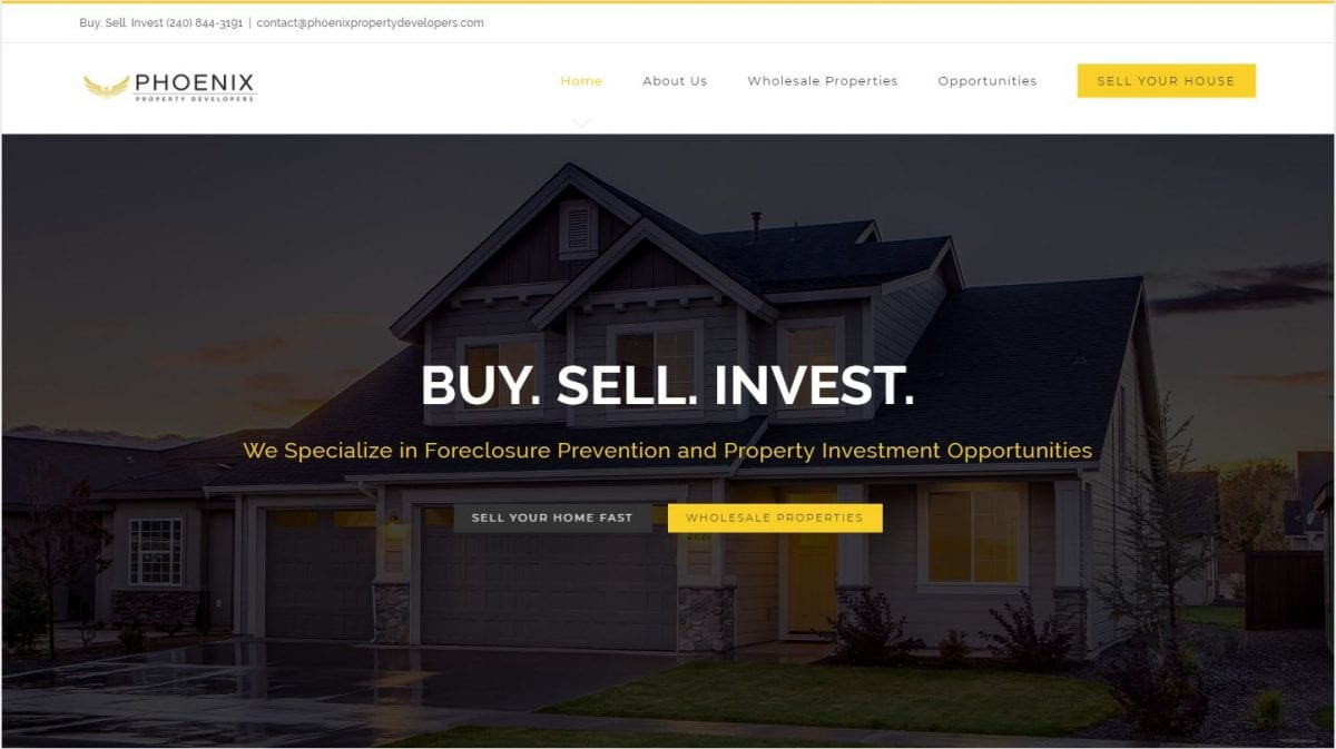 Phoenix Property Developers Website & Marketing