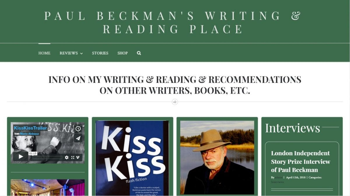 Paul Beckman's Reading & Writing Place