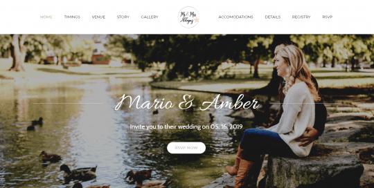 Aldayuz Wedding Website