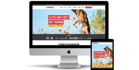 Sit means Sit Cleveland - home page on multiple screen