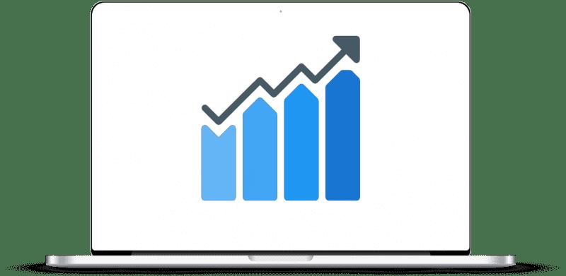 Growth analysis graphic representation