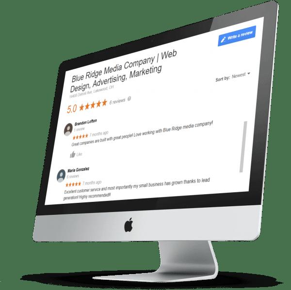 BRMC ratings on mac screen