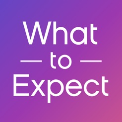 What to Expect on blue and purple background