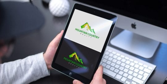 Mountain Country Reality Logo