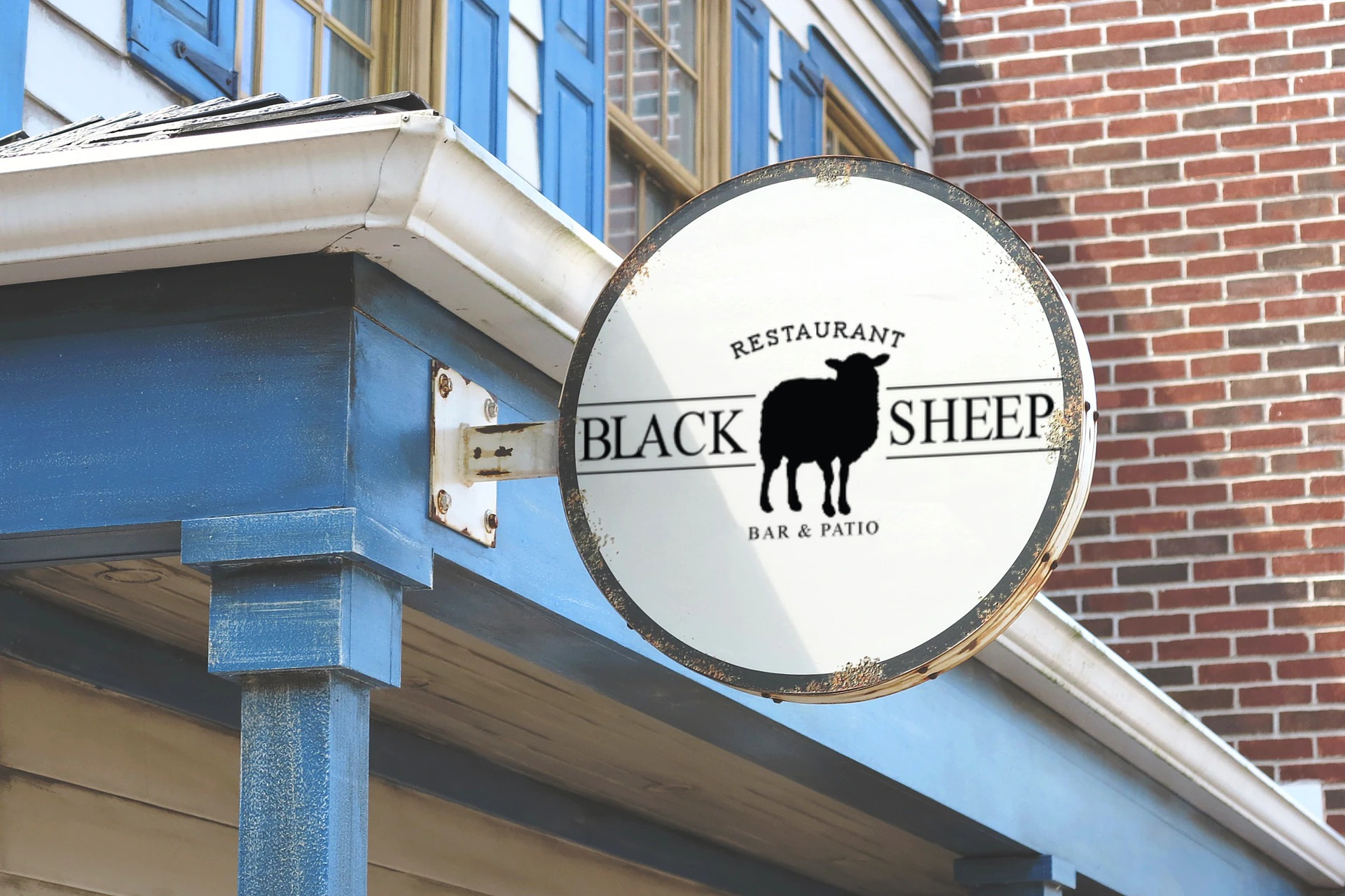 Black Sheep blue Ridge logo