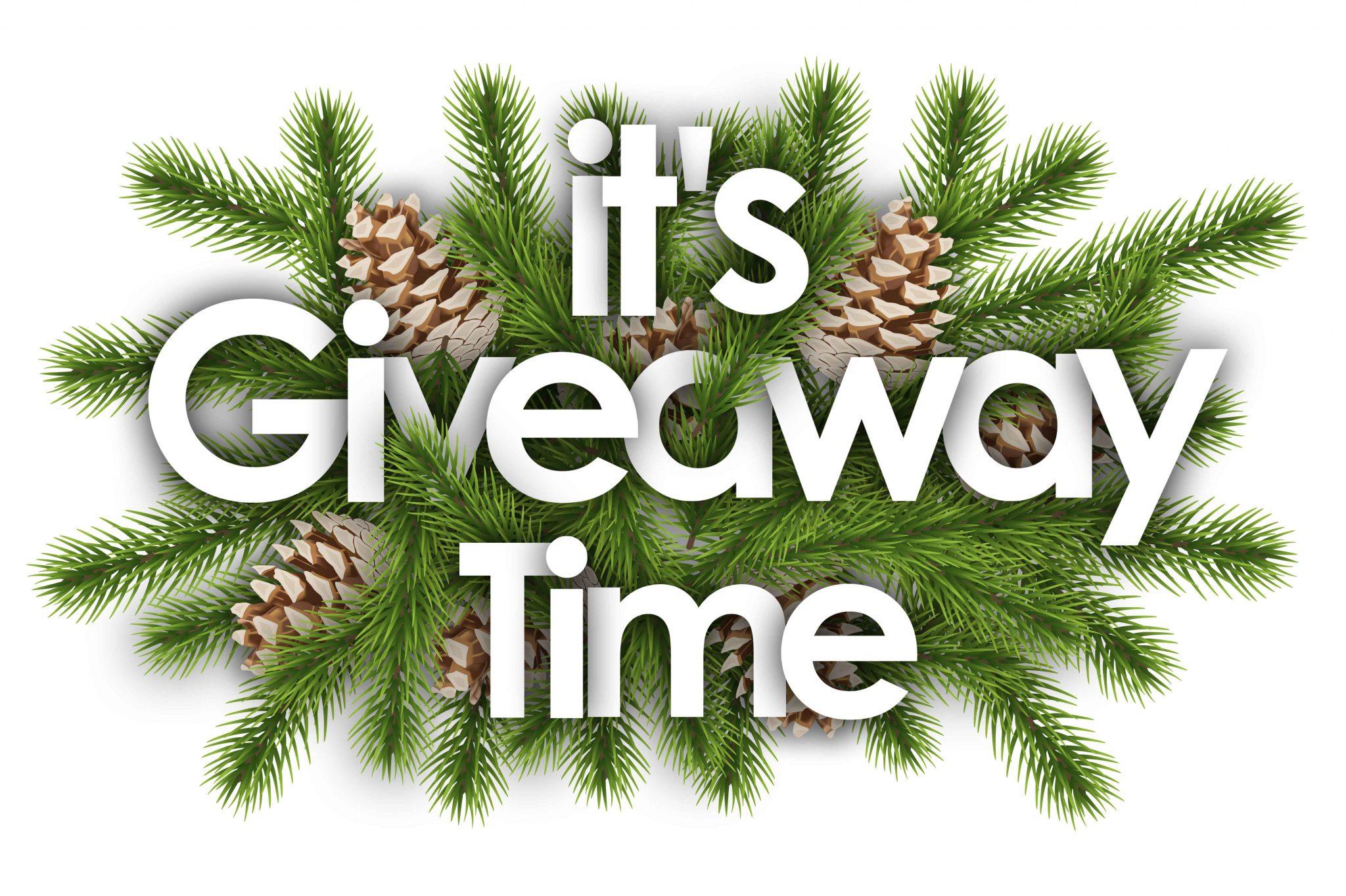 Holiday season social media giveaway