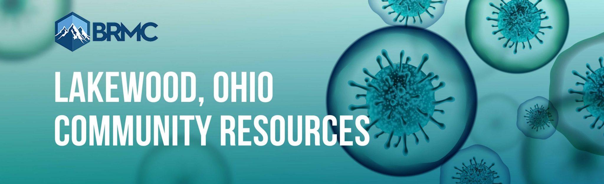 Lakewood, Ohio Coronavirus Community Resources