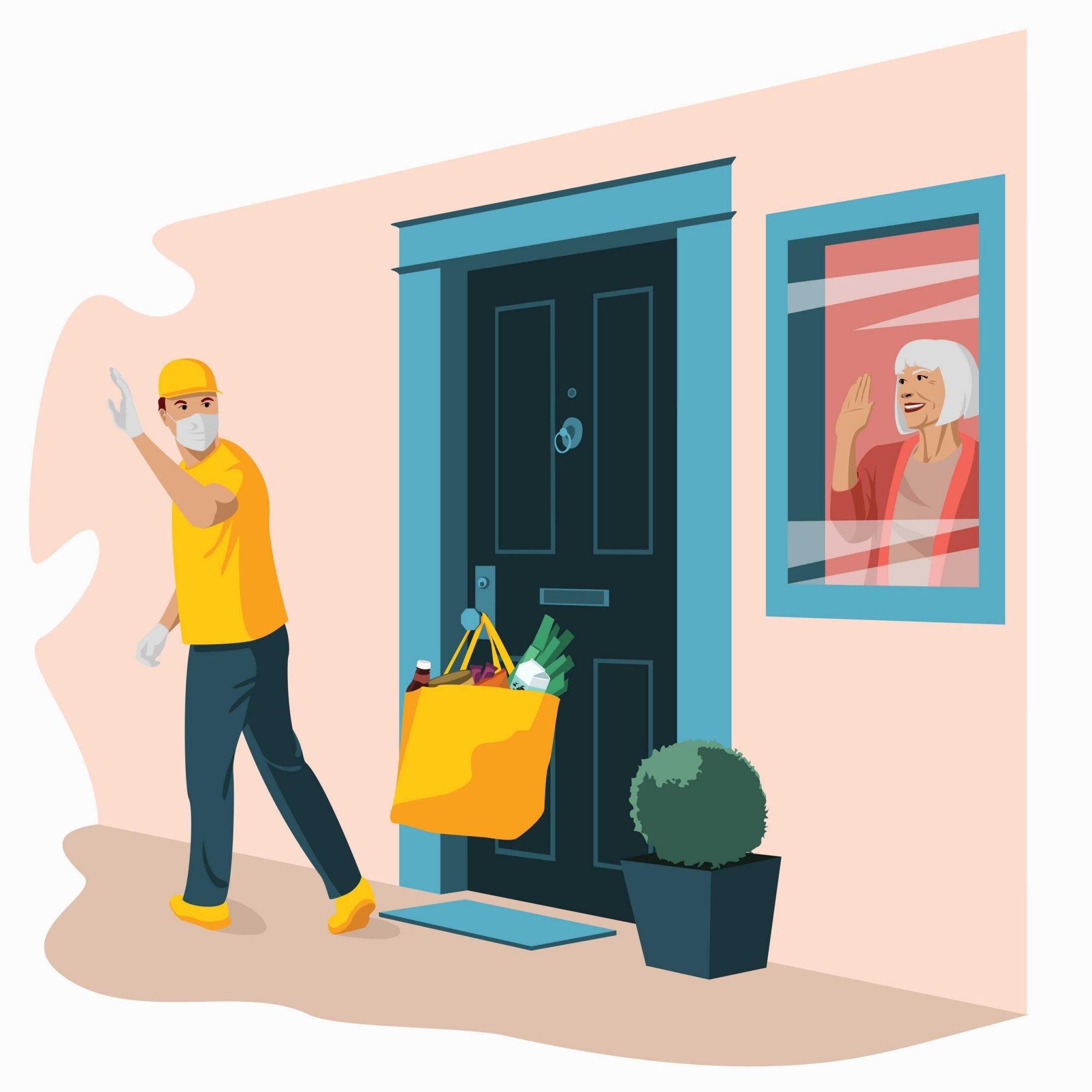 Home delivery during Coronavirus quarantine