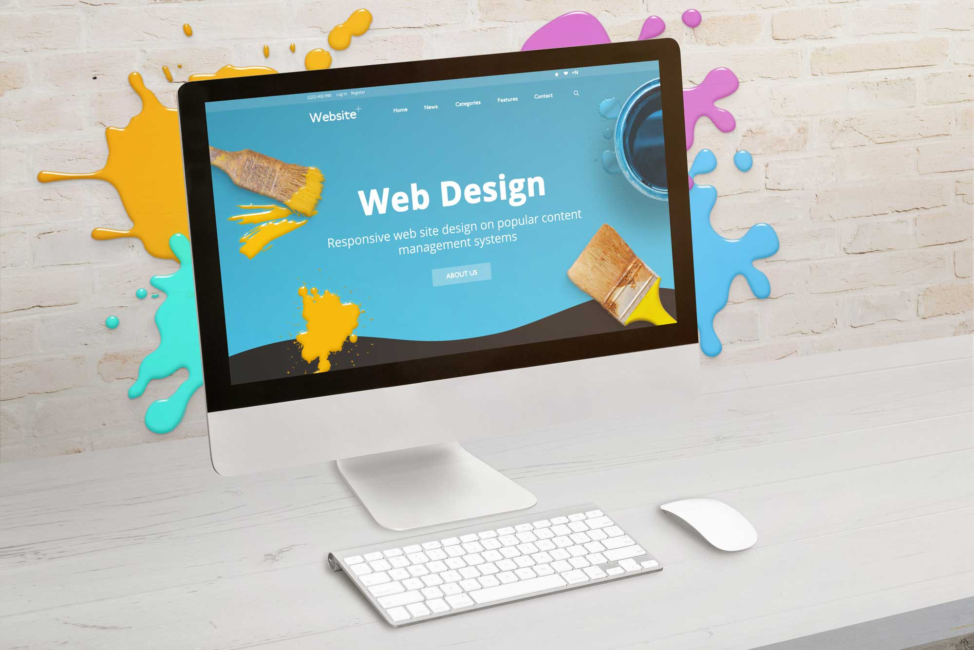 Update website design