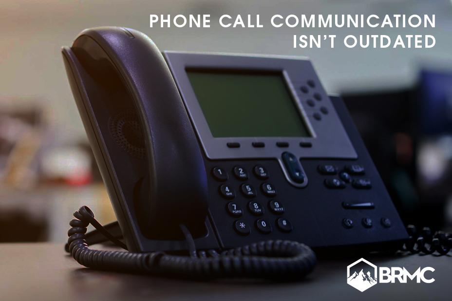 Photo of landline office phone.