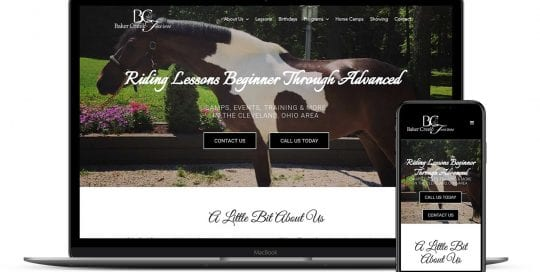 Baker Creek Farm website design and mobile optimization